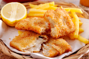 Close up of Fish and Chips